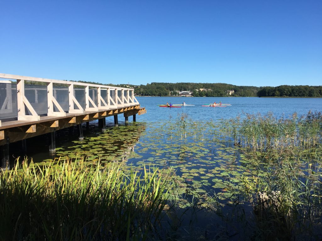 Jezioro Czos w Mrągowie