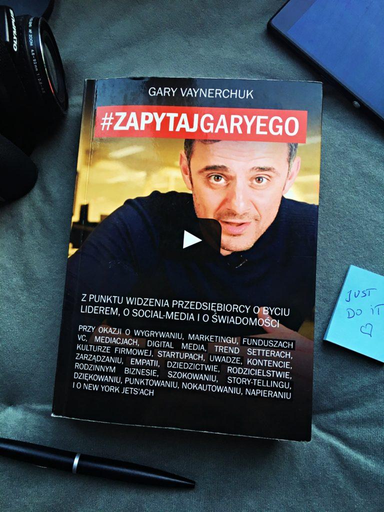 Książka #ZAPYTAJGARYEGO Gary Vaynerchuk
