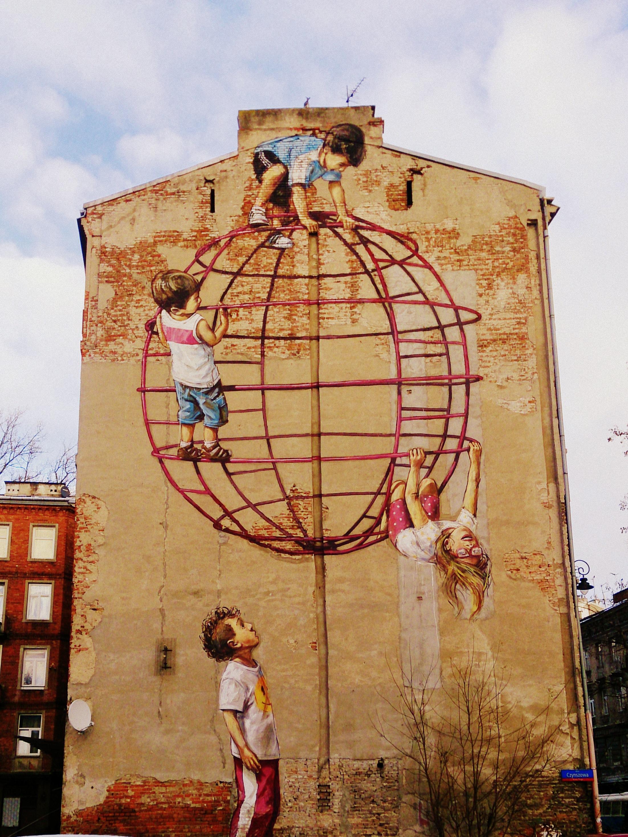 Praskie murale – street art Nowej Pragi
