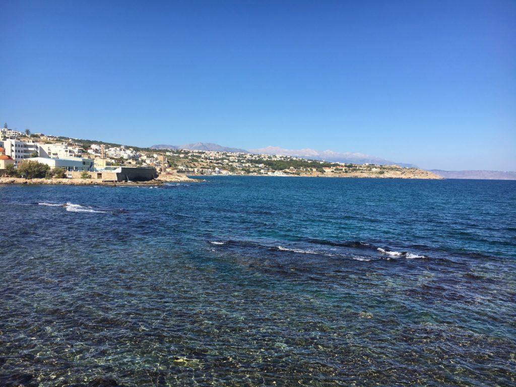 Rethymnon Kreta morze