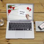 laptop pierwsze zdanie pisanie praca