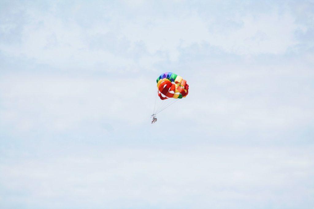 Marzenie lot balonem wolność